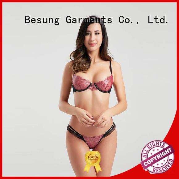 Besung sexy lingerie online bulk production for wife