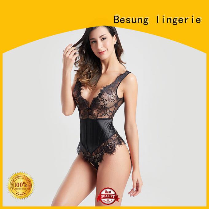 Besung hot-sale womens white bodysuit buy now for hotel