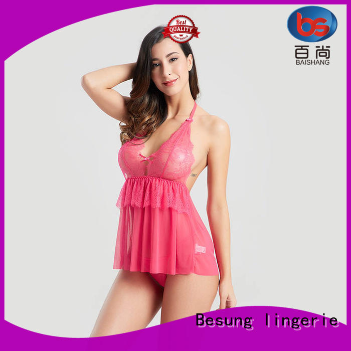 Besung industry-leading deep plunge bodysuit inquire now for home