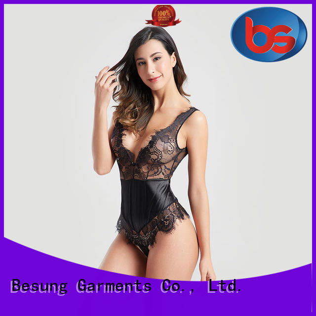 Besung garter female bodysuit at discount for home