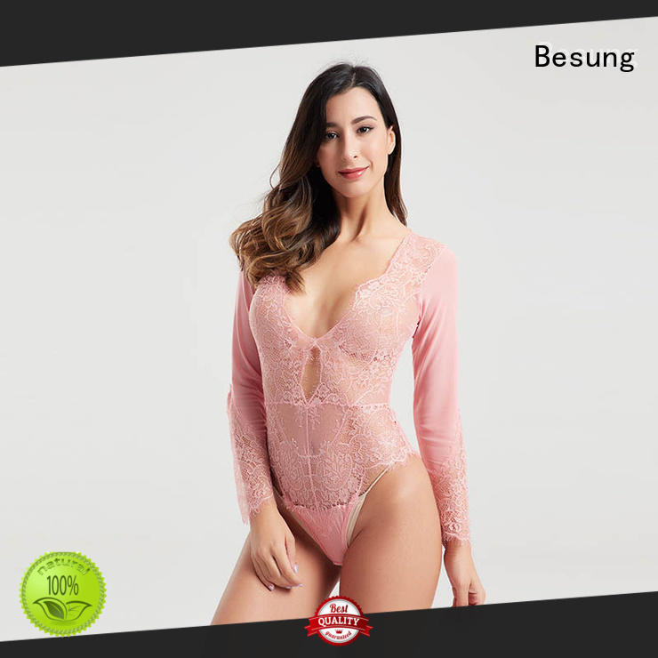 Besung popular lace teddy from manufacturer for wife