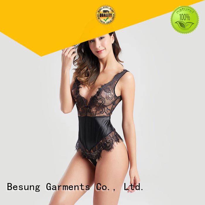Besung bodysuit yellow lace bodysuit wholesale for home