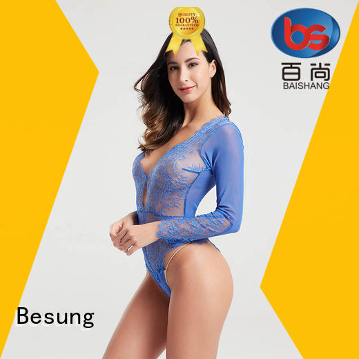Besung backless lace teddy from manufacturer for wife