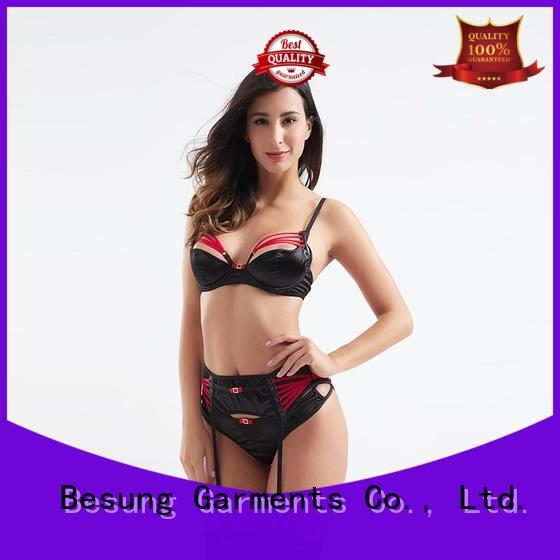 Besung low price sexy designer lingerie leopard for home