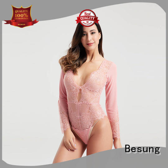 Popular mesh transparent long sleeve lingerie BSQ170