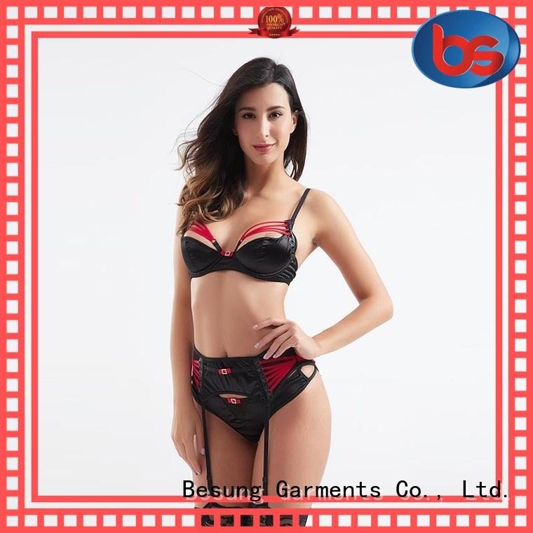 Besung inexpensive silk lingerie front for wife