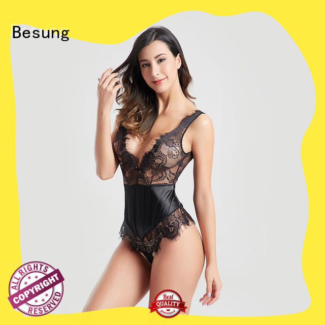 Besung newest one piece lingerie wholesale for hotel