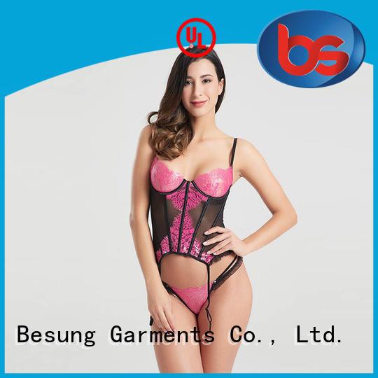 new design bustier lingerie back factory price for women