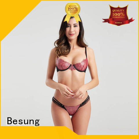 Besung silk lingerie bulk production for hotel