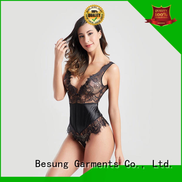 Besung backless nude lace bodysuit for wholesale for wife