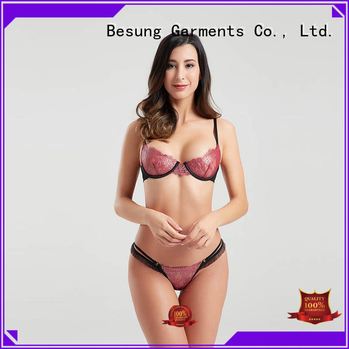 Besung threepiece lingerie sets free design for home
