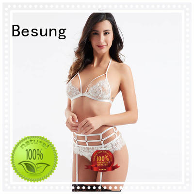 Besung threepiece asian lingerie certifications for women