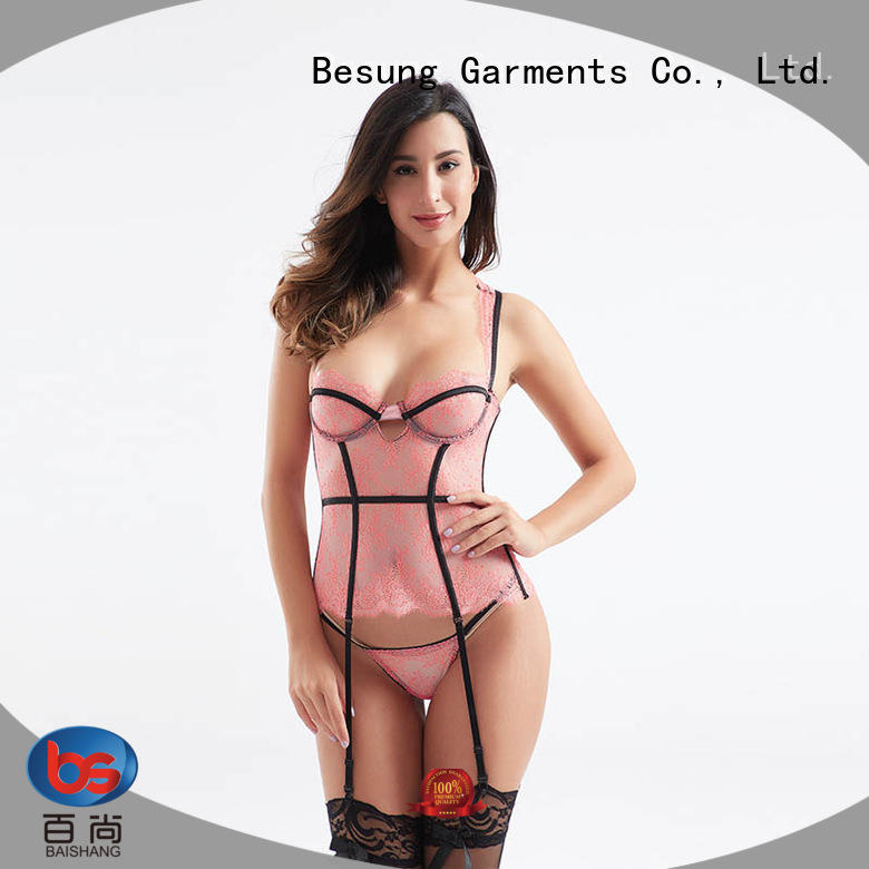 Besung back lace corset wholesale for wife