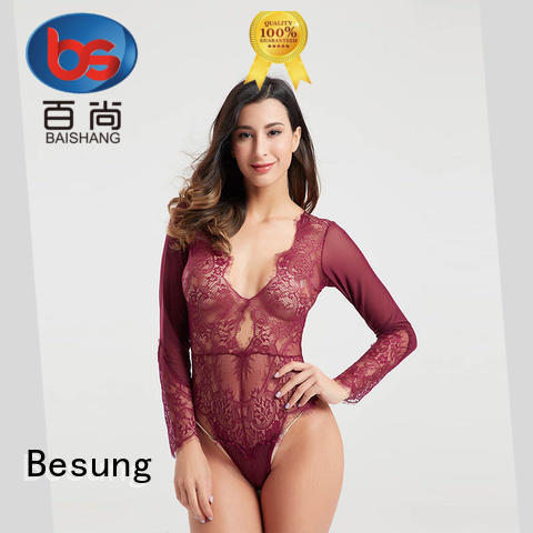 Besung fine-quality strapless bodysuit production for lover