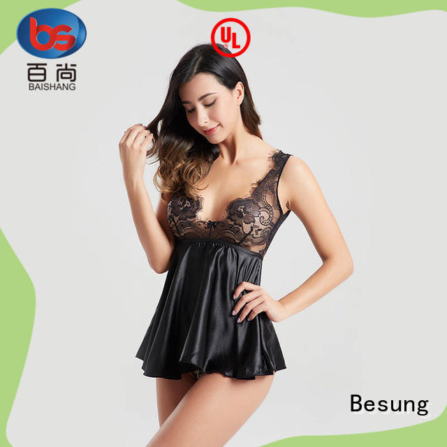 Besung deep sheer bodysuit at discount for wife