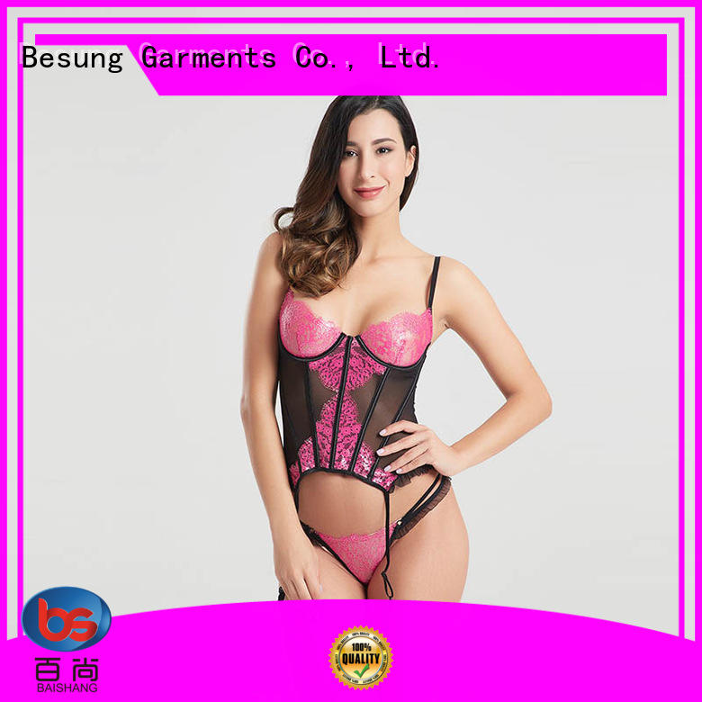 Besung symmetry strapless corset free design for wife