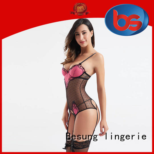 Besung bulk lace teddy lingerie for hotel
