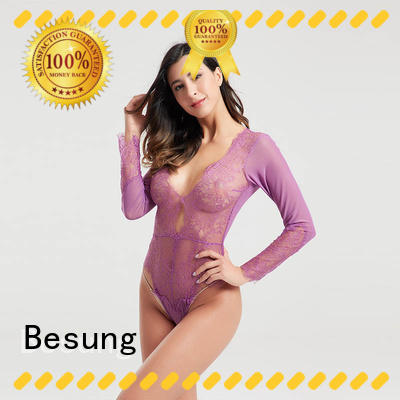 transparent hot pink bodysuit buy now for wife Besung