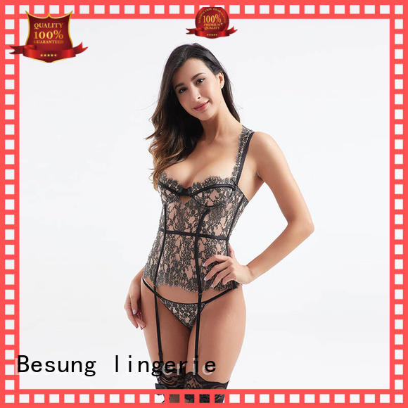 design lace bustier from manufacturer for wife Besung