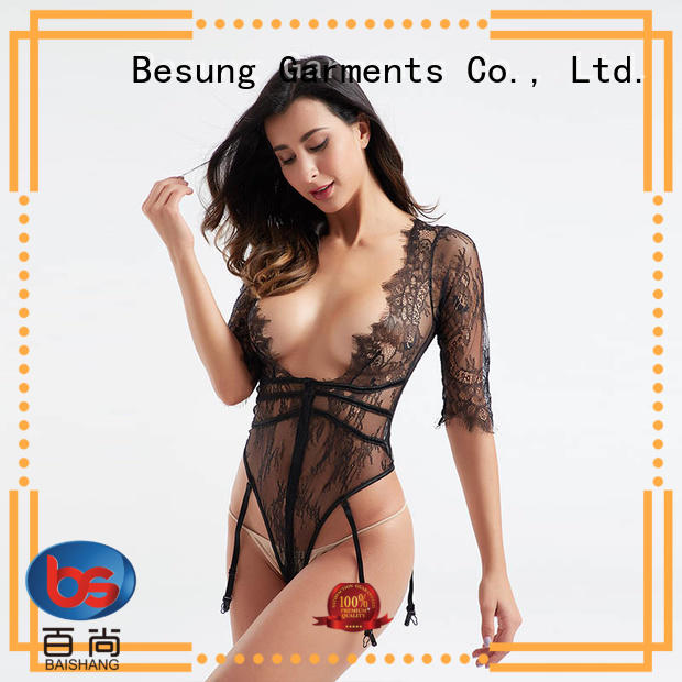 hot-sale black bodysuit outfit out wholesale for lover