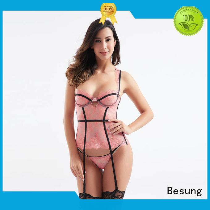 exquisite latex corset mesh product for home