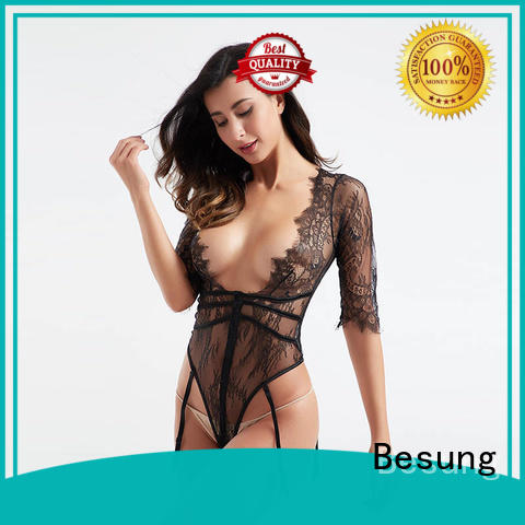 Besung fashionable backless bodysuit free design for women