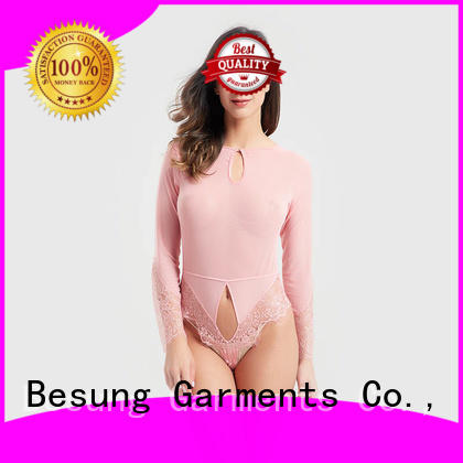 Besung out sexy mesh bodysuit production for home