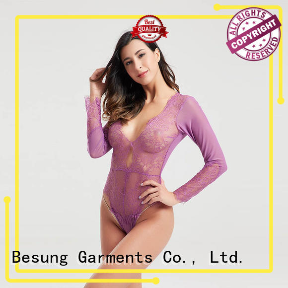 Besung top green corset bodysuit production for home