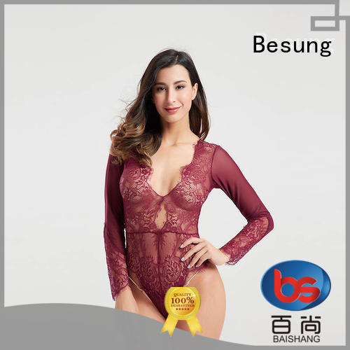 Besung unique strappy bodysuit inquire now for lover