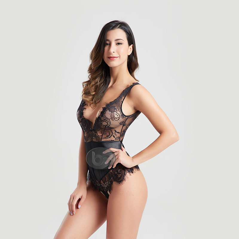 Besung small lace underwire bodysuit free design for lover-1