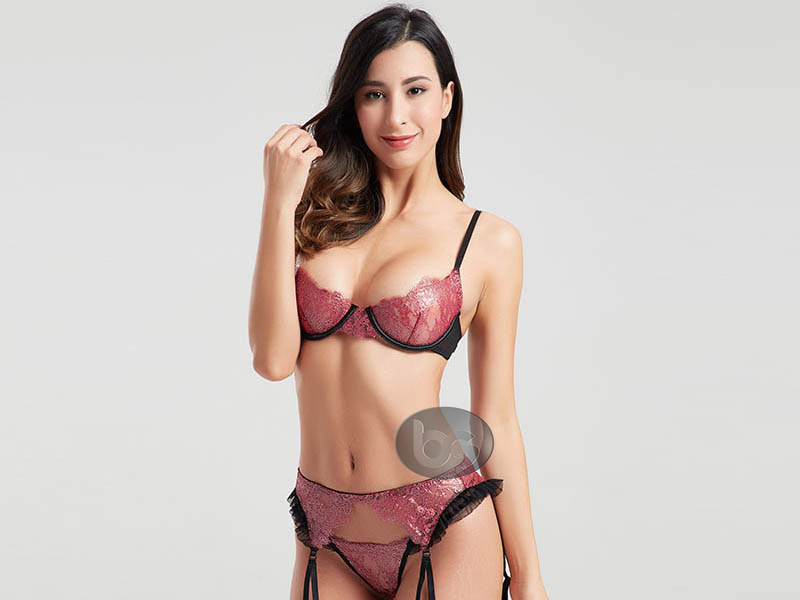 Besung hang valentines lingerie lace for home-3