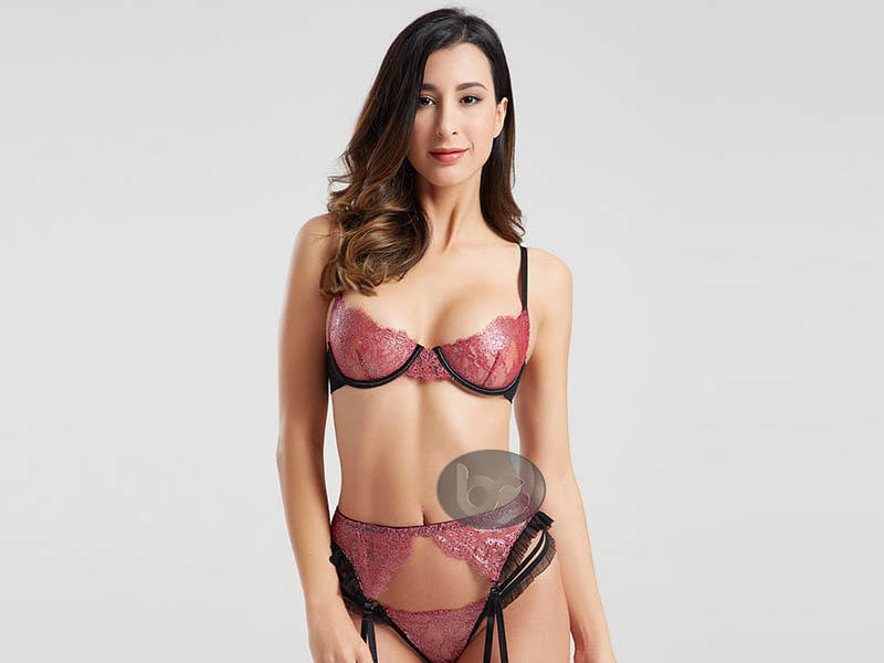 Besung hang valentines lingerie lace for home