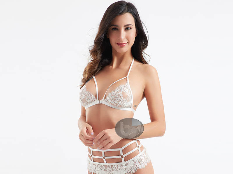 Besung transparent lace lingerie free design for wife-3