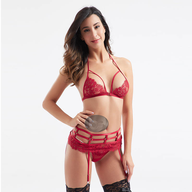 Besung contrast valentines lingerie bulk production for home-1