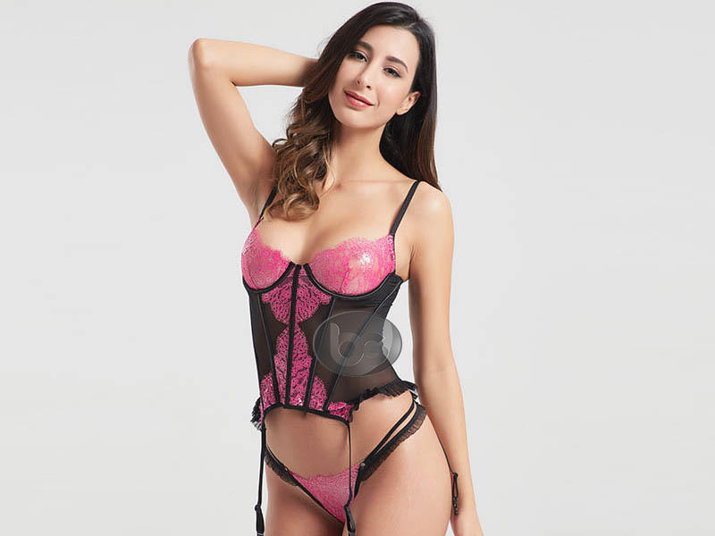 hot-sale black corset elegant sale for home