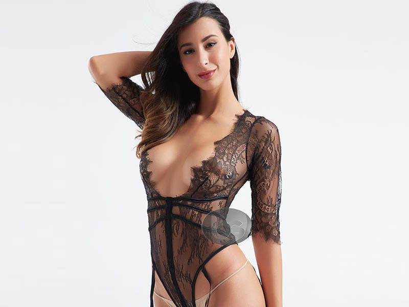 Besung unique plus size lace bodysuit buy now for wife-2