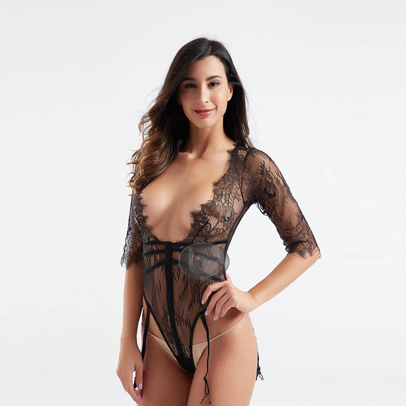 Besung unique plus size lace bodysuit buy now for wife-1